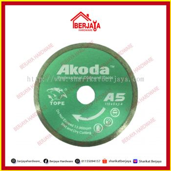 Akoda Diamond Blade Wet (GREEN)