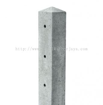 "CONCRETE FENCE POST 3"" X 3"" X 6'"