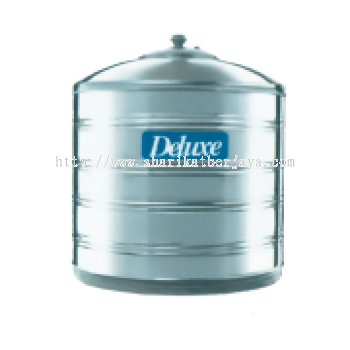 DELUXE VERTICAL FLAT BOTTOM WITHOUT STAND 304 STAINLESS STEEL WATER TANK