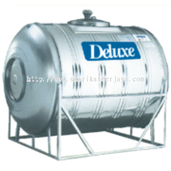 DELUXE HORIZONTAL WITH STAND 304 STAINLESS STEEL WATER TANK