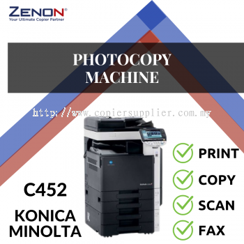 Konica Minolta Bizhub C452 Color Photocopier Machine