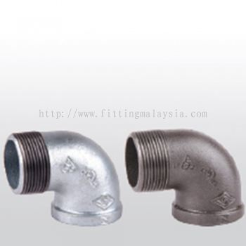 90° Street Elbow, Banded, Equal