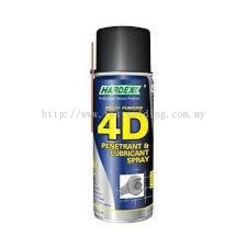 HARDEX HD-440 MULTIPURPOSE 4D PENETRANT & LUBRICANT SPRAY 400ML