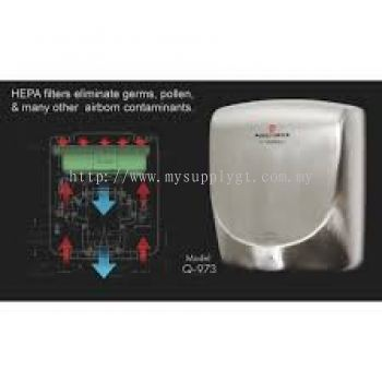 Hand Dryer  HEPA filter Air Speed