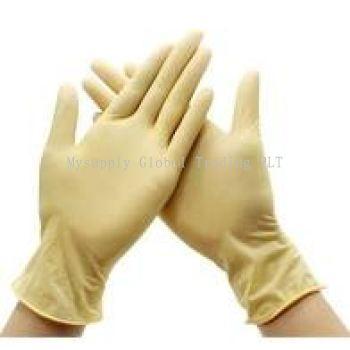 Disposable Glove Latex Powder Free