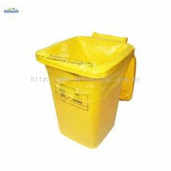 Disposable Yellow Bag c/w Tie-Cable