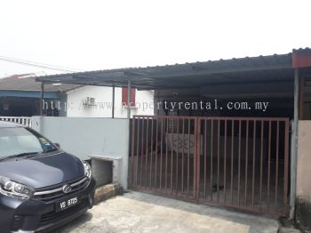 (R0102)Single Storey Terrace House for Rent