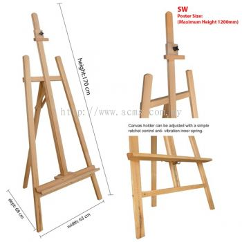 Wooden Easel Stand (SW & SW)