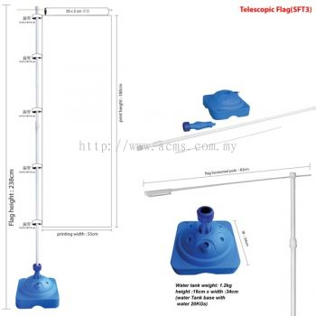 Telescopic Flag (SFT3)