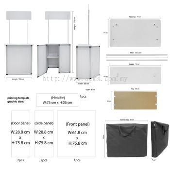 Aluminium Sampling Booth (TSB1)
