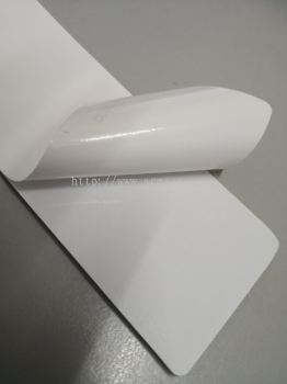SOLVENT VINYL STICKER (WHITE GLUE)
