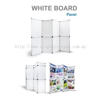 Folding panel white board (PFW)
