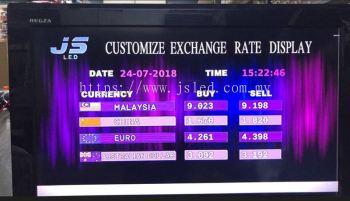 Money Changer Display