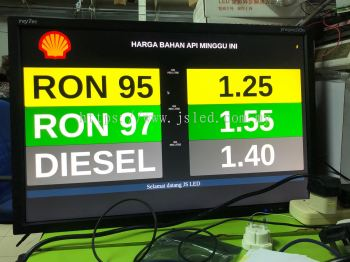Customize Gas Price Display Using LCD