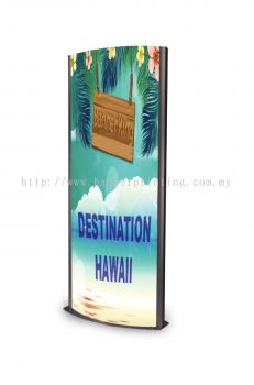 LED Backlit Poster Stand