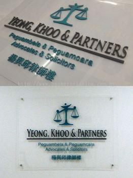 Laser Cut Acrylic Signage