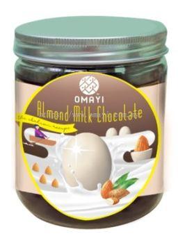 Jar-Almond Milk Chocolate 杏仁牛奶巧克力