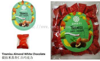 Poly Bag-Tiramisu Almond White Chocolate 提拉米苏杏仁白巧克力