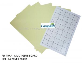 CPI Fly Glue Board Multi-White