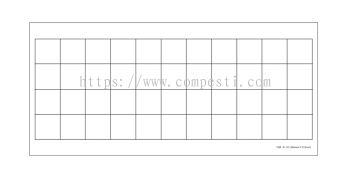 Fly Glue Board White 01 - 264mm �� 572mm