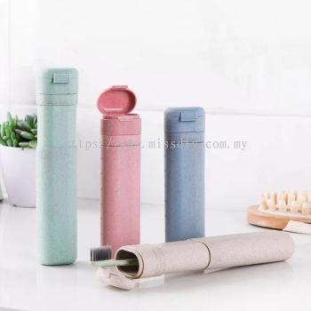 01350, Environmental Wheat Stalk Travel Adjustable Toothbrush Holder