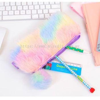 1308, rainbow hair pencil box