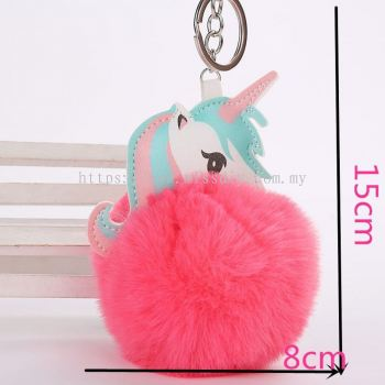 1603, unicorn keychain