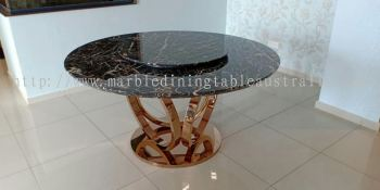 Modern Round Dining Table 6-8 People