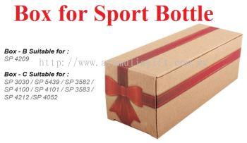 Box for Sport Bottle