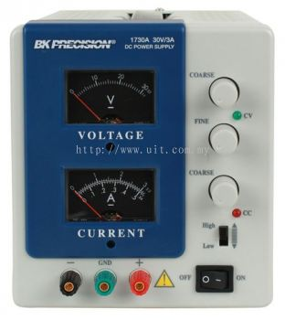 Analog DC Power Supply (0-30V, 0-3A) Model 1730A