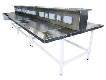 Multi Station Downdraft Tables