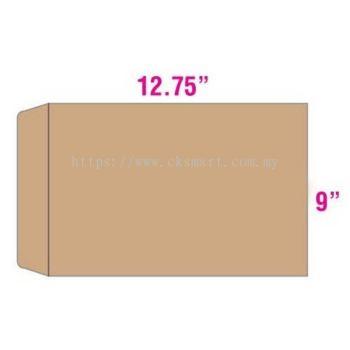 9 X 12.75 BROWN ENVELOPE