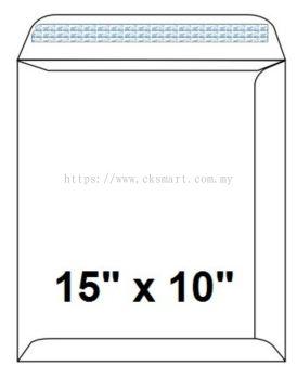10 X 15 WHITE ENVELOPE