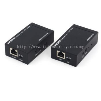 HDMI extender over Single UTP cable (Cat5e/Cat6)