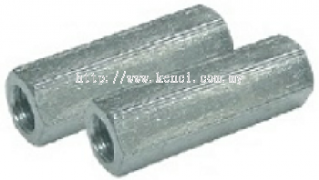 BSW HEXAGON LONG NUTS(ZINC PLATED)