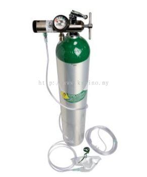 Medical Oxygen Cylinder - Size D (Catalina Aluminium Cylinder)
