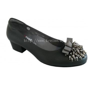MF242-3 Silver Medifeet Fairlady shoe (RM239)