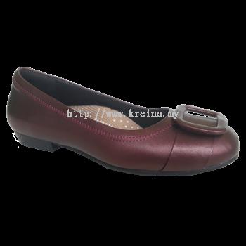 MF188-5 Maroon Medifeet Fairlady shoe (RM249)