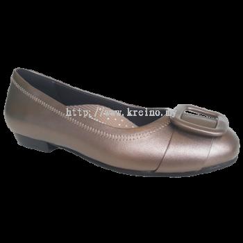MF188-2 Gold Medifeet Fairlady shoe (RM249)