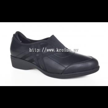 MWP172-6 Black Medifeet Walkabout shoe (RM289)