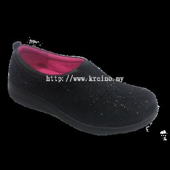 MP042-6 Black Medifeet Biowalk shoe (RM259)