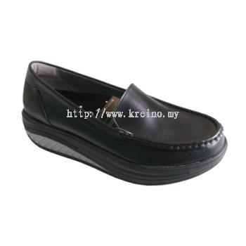 MS122-6 Black Professional Uniform Shoe