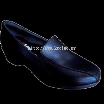 MF039-6 Black Professional Uniform Shoe