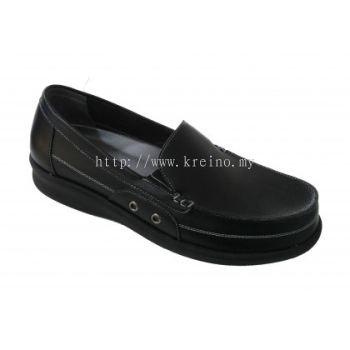 M178B-6 Black Medifeet Men's Comfort Shoe (RM249)