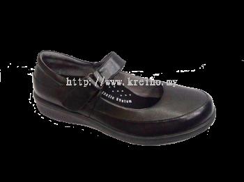 MP123-6 Black Professional Uniform Shoe