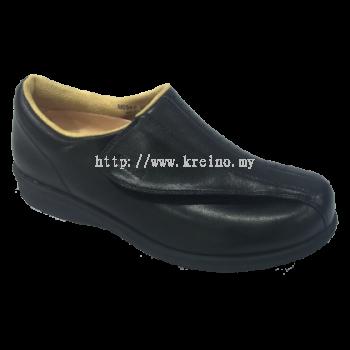 M054-6 Black Medical Grade Footwear Post-diabetic