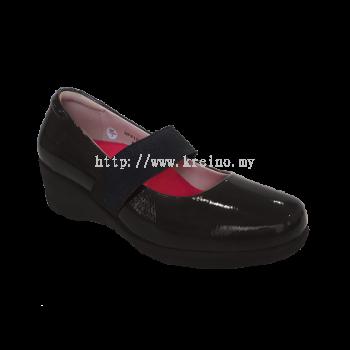 MFP152-6 Charcoal Medifeet Fairlady Ultralite Shoe (RM259)