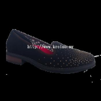 MWP195-0 Goldie Black Medifeet Walkabout Shoe (RM299)