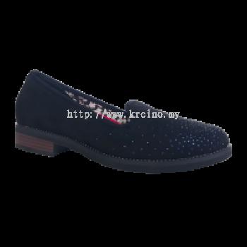 MWP195-9 Blublack Medifeet Walkabout Shoe (RM299)