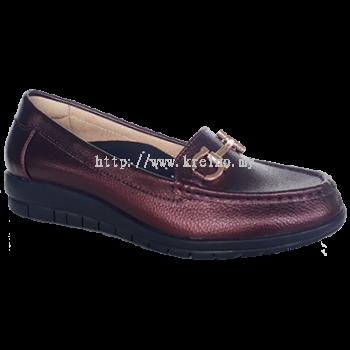 MW098-5 Maroon Medifeet Walkabout Shoe (RM239)